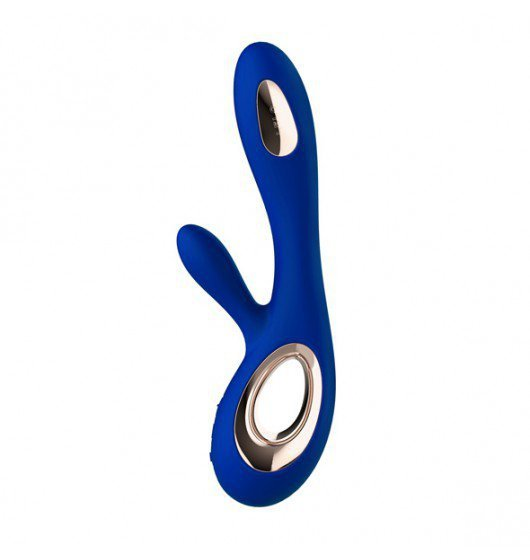 Luksusowy króliczek Lelo Soraya Wave Midnight Blue