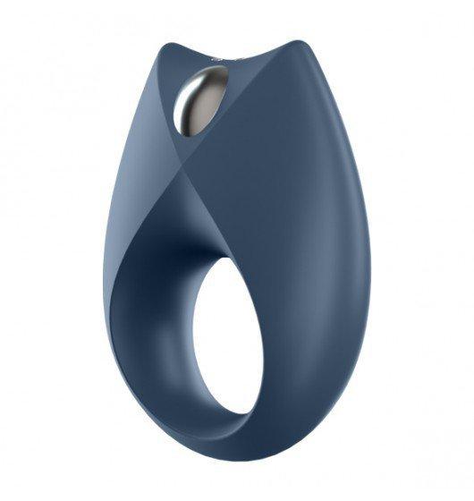 Elastyczny zdalny pierścień z wibracjami na penisa- Satisfayer Royal One Ring incl. Bluetooth and App