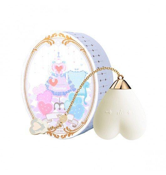 Zalo Lolita Baby Heart Vanilla White