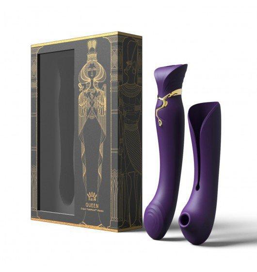 Zalo Legend Queen Set G-Spot Pulse Wave Vibrator Twilight Purple