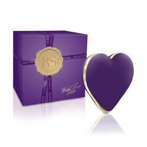 Stymulator serduszko - Rianne S - Heart Vibe (deep purple)