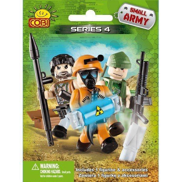 Klocki Armia Figurka z akcesoriami seria 4