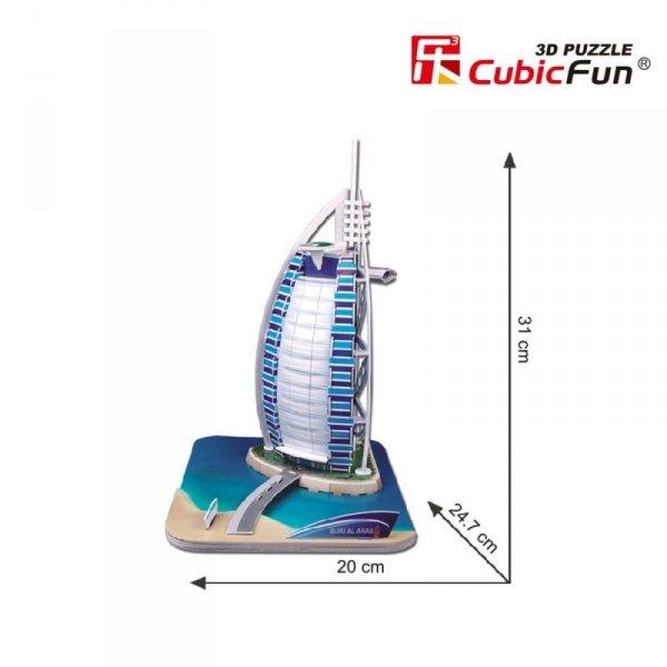 Puzzle 3D Budynek Burj Al Arab