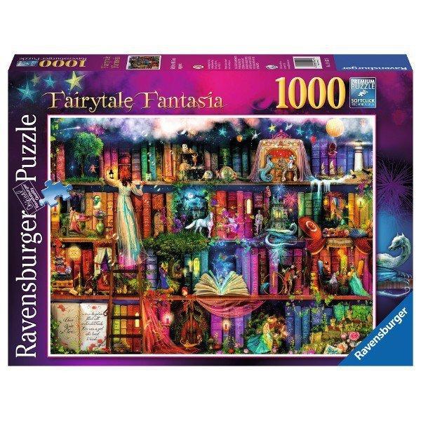 Puzzle 1000 elementów Magiczna biblioteczka