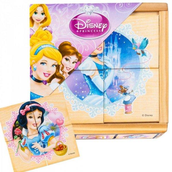 Drewniane Puzzle Księżniczki
