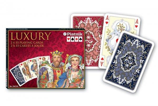 Karty Luxury 2 talie