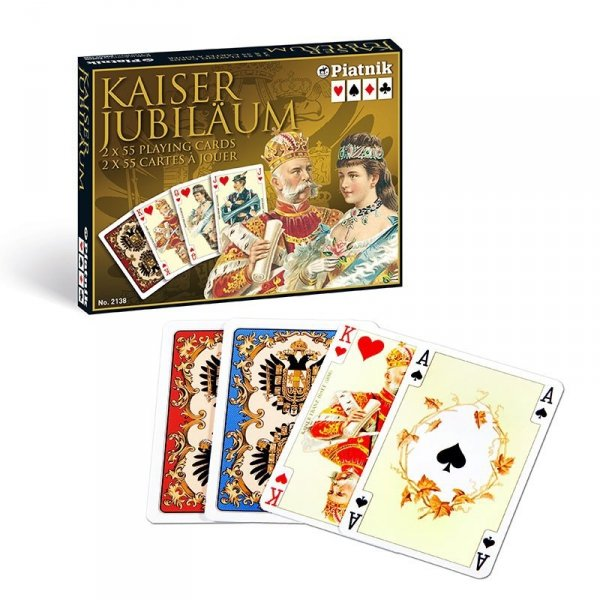 Karty Cesarskie Kaiser 2 talie