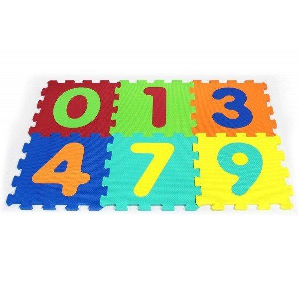 6 elementów, Puzzle piankowe cyferki
