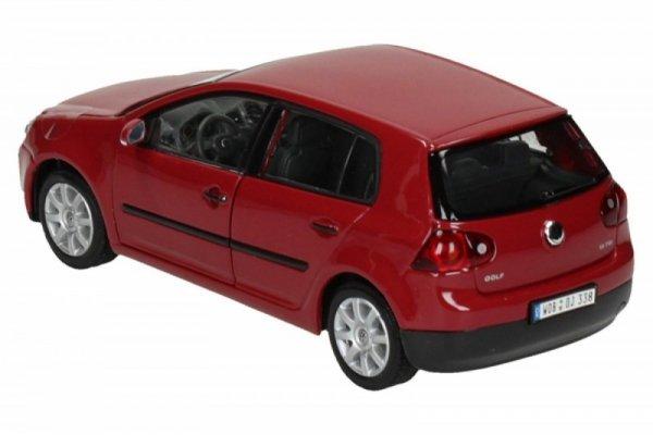 Volkswagen Golf V, czerwony