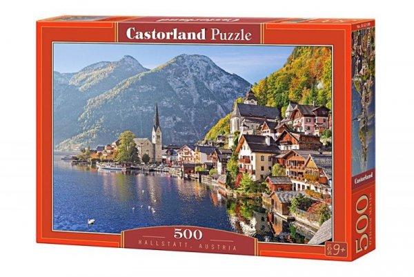 Puzzle 500 elementów - Hallstatt, Austria