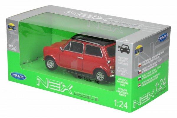 Mini Cooper 1300, czerwony