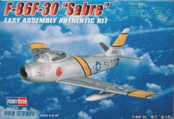 HOBBY BOSS F-86F-30 Sabr e