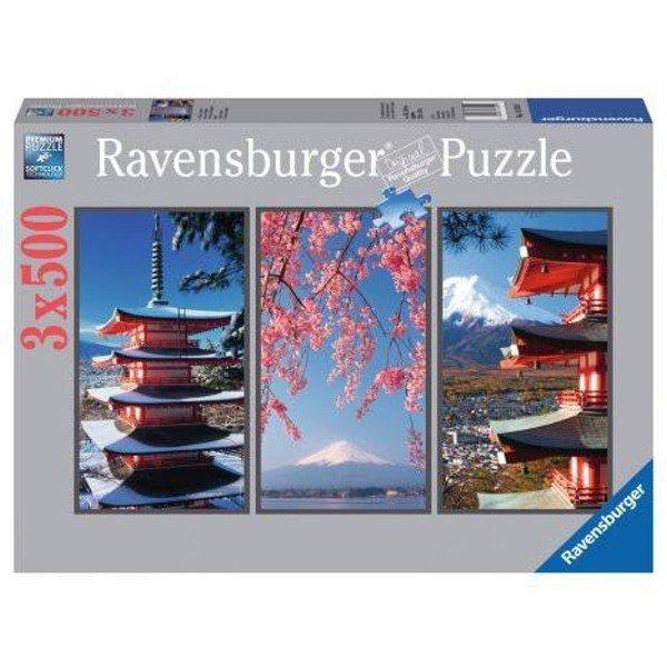 RAVEN. 3X500 EL. Tryptyk japoński
