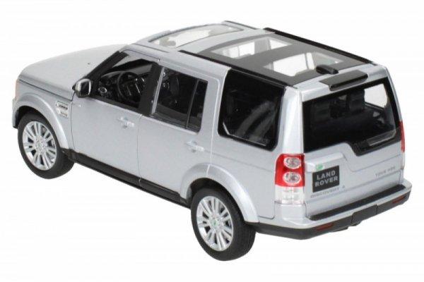 Land Rover Discovery 4, srebrny