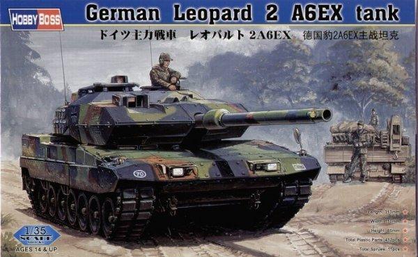 Model plastikowy German Tank Leopard 2 A6EX