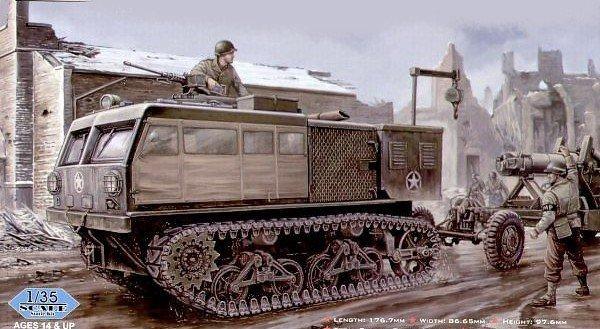 HOBBY BOSS M4 High Speed Tractor 155mm