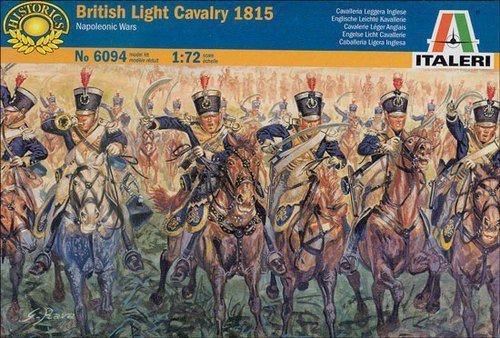 ITALERI British Light Calvary 1815
