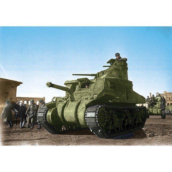 ZVEZDA US Medium tank M3 'Lee'