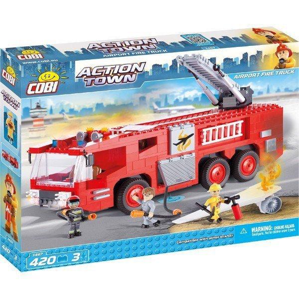 Klocki Action Town Lotnisko Fire Truck