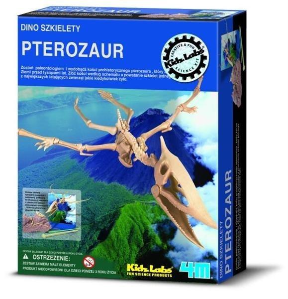 Wykopaliska Pterozaur