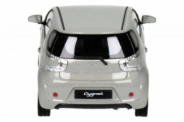 Aston Martin Cygnet, srebrny