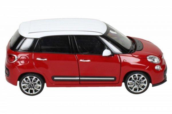 Fiat 500L 2013, czerwony