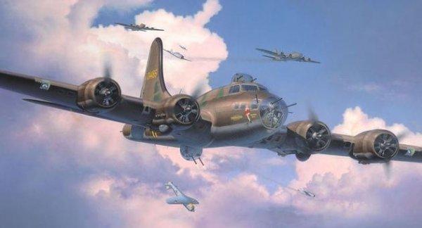 Model plastikowy B-17F Memphis Belle