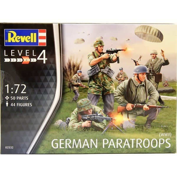 German Paratroopers WWII