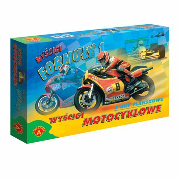 Gra Wyścigi Formuły 1, Wyścigi Motocyklowe