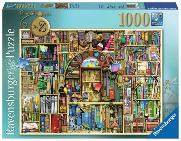 1000 ELEMENTÓW Dziwaczna Księgarnia 2