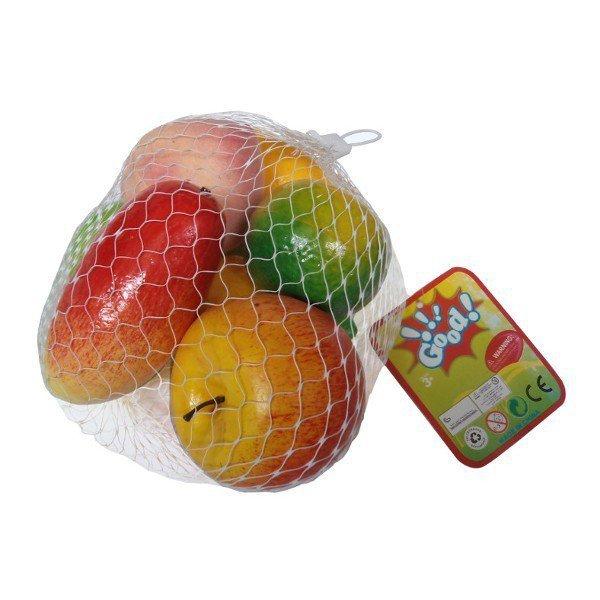 Zestaw owoców w worku