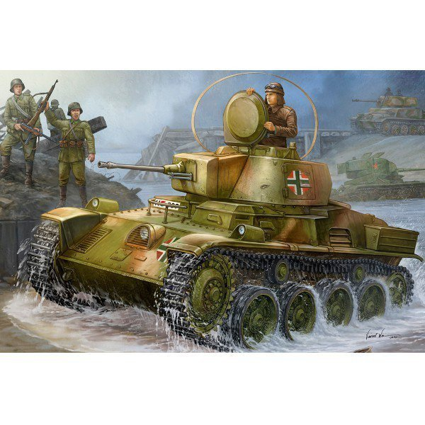 Hungarian Light Tank 38M