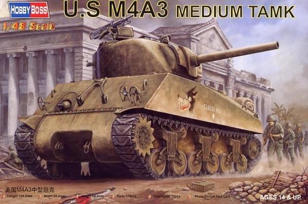 MODEL M4A3 Sherman
