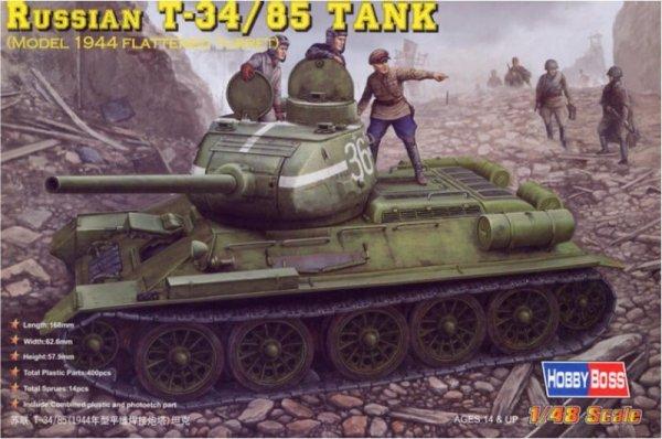 T-34/85 Model 1944 Flattened
