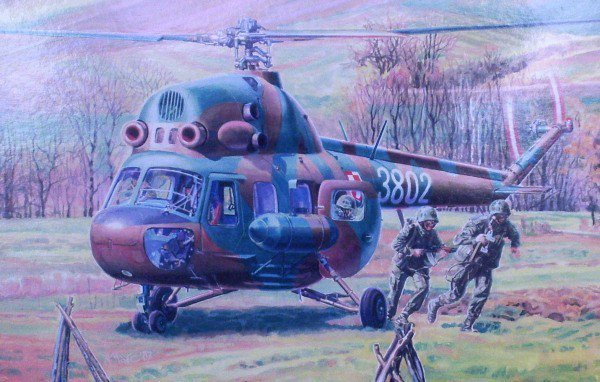 MASTERCRAFT Mi-2T Comman dos Transport