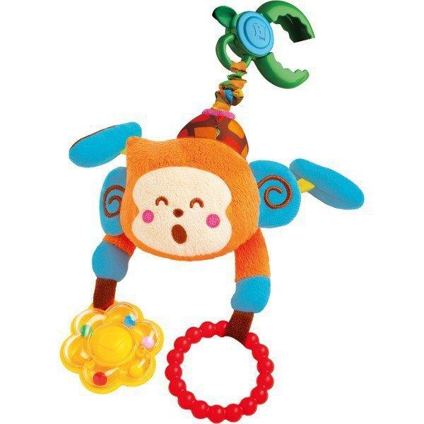 Małpka na wózek z naciągiem