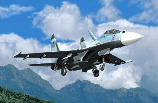 TRUMPETER Su-27UB Flanke r C