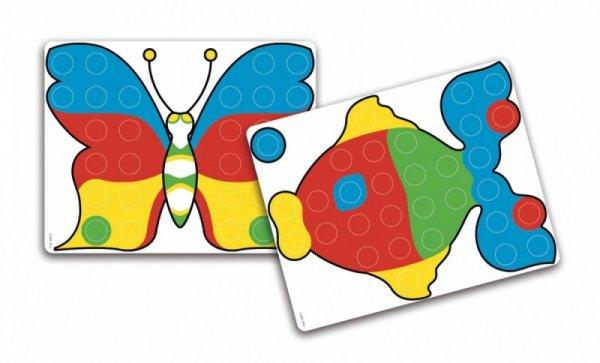 Fantacolor Junior Mozaika 48 elementów z podstawką
