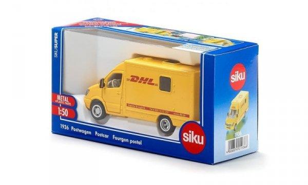Samochód kurierski DHL