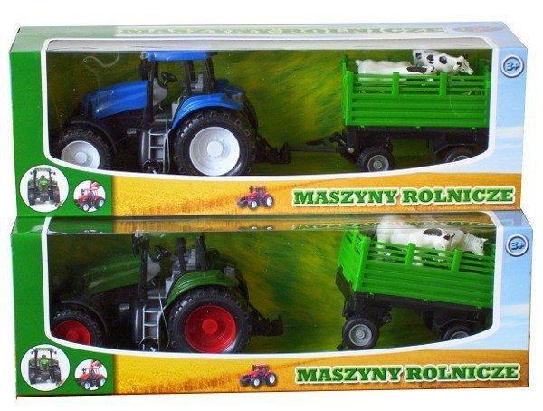 Zestaw traktor z maszyną