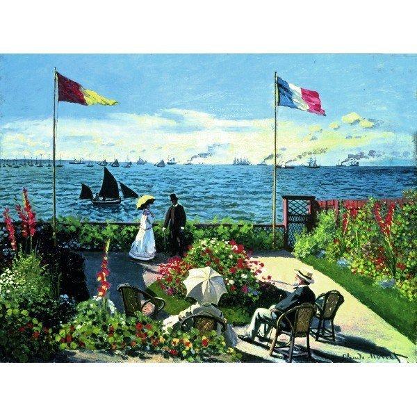 RAVEN. 300 EL. Monet, Og ród w Sainte-Adresse