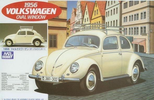 MR.HOBBY 1956 Volkswagen Oval Window