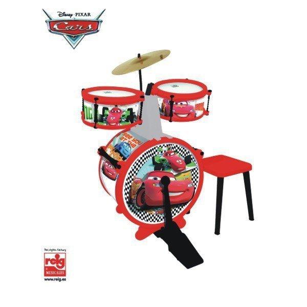 Cars Perkusja + stołek