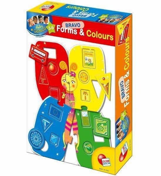 Baby Geniusz Bravo Kształty i kolory