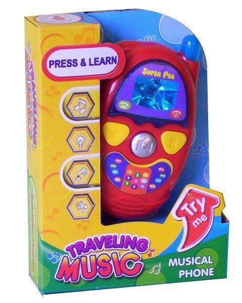 Telefon dla malucha światło