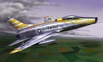 TRUMPETER F-100D Super S abre