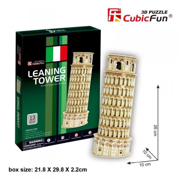 Puzzle 3D Krzywa Wieża Pisa Tower