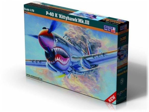 MASTERCRAFT P-40K Kittyh awk Mk III