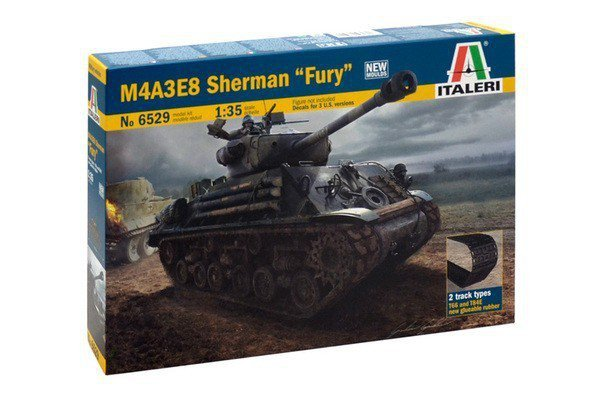 ITALERI M4A3E8 Sherman ' Fury'