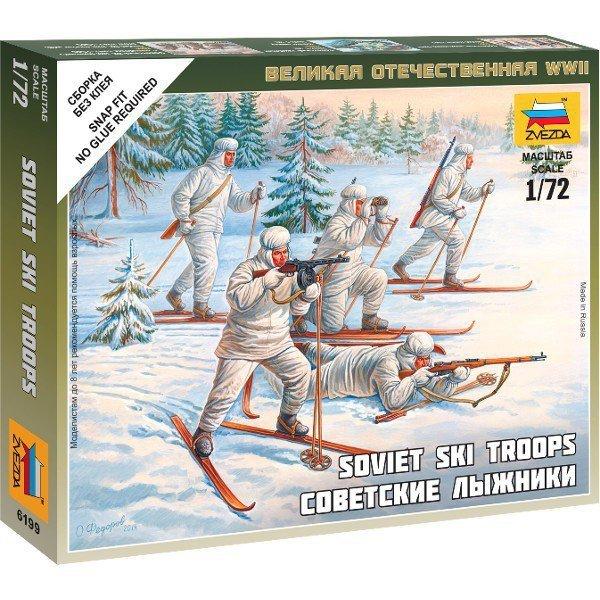 Soviet Ski Troops WWII